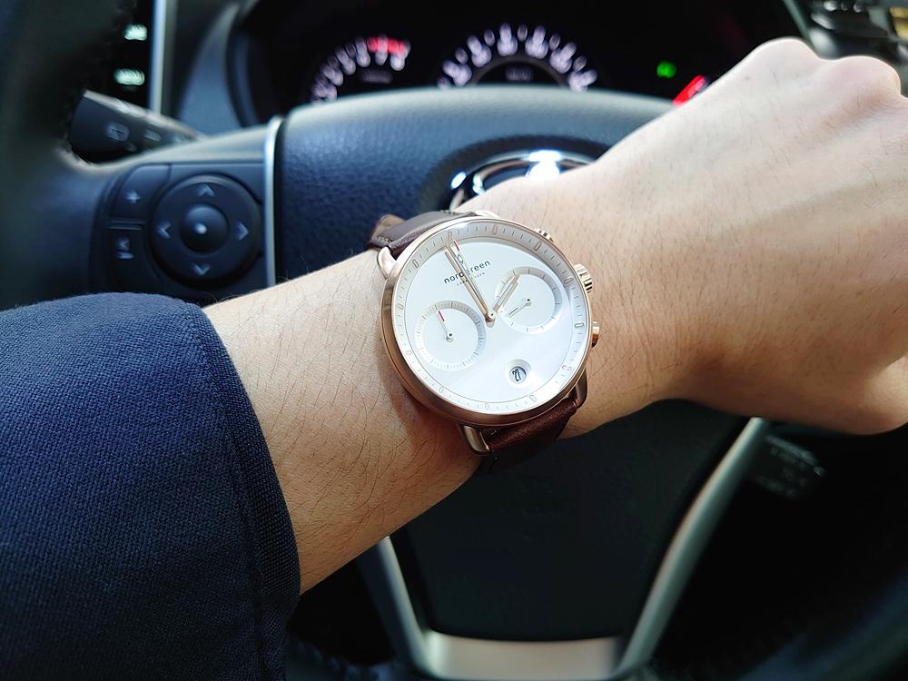 ノードグリーン 腕時計 Pioneer パイオニア 車 お出かけ