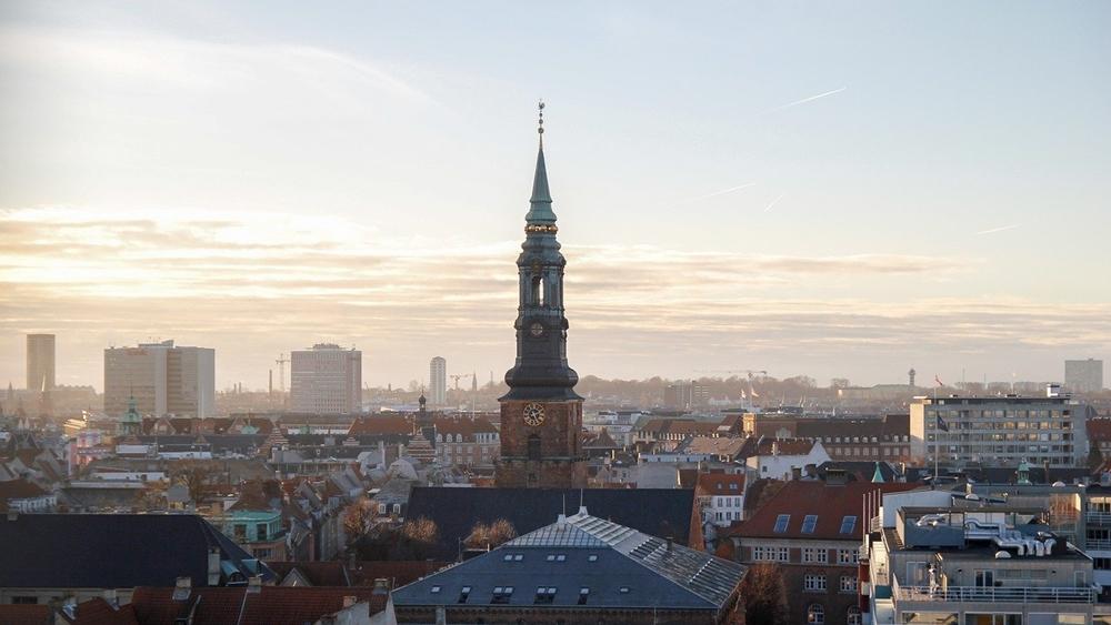 copenhagen denmark architecture buildings sky city