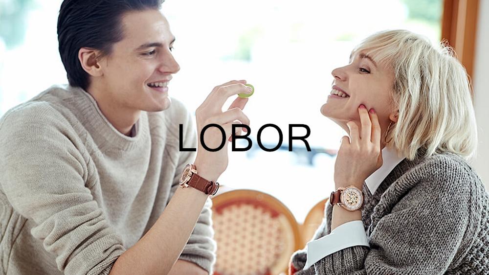 LOBOR ロバー 腕時計 ファッションウォッチ ペアウォッチ
