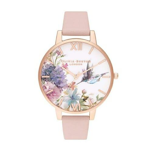 ペインタリープリンツ ダスティピンク & ローズゴールド オリビアバートン 腕時計