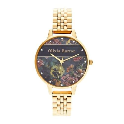 ヴァースティ ペール ゴールド ブレスレット 34mm オリビアバートン 腕時計
