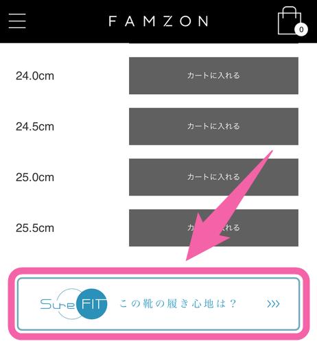 ファムゾン SureFIT