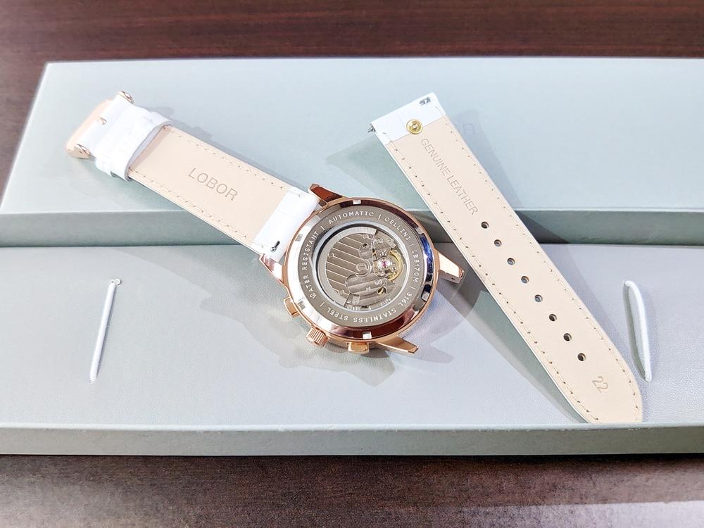 LOBOR 腕時計 ストラップ交換