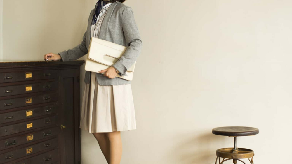 Business Leather Factory(ビジネスレザーファクトリー) クラッチバッグ2WAY 女性