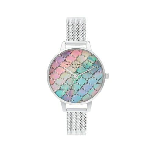 アンダーザシー マーメイド テイル シルバー ブークレ メッシュ オリビアバートン 腕時計