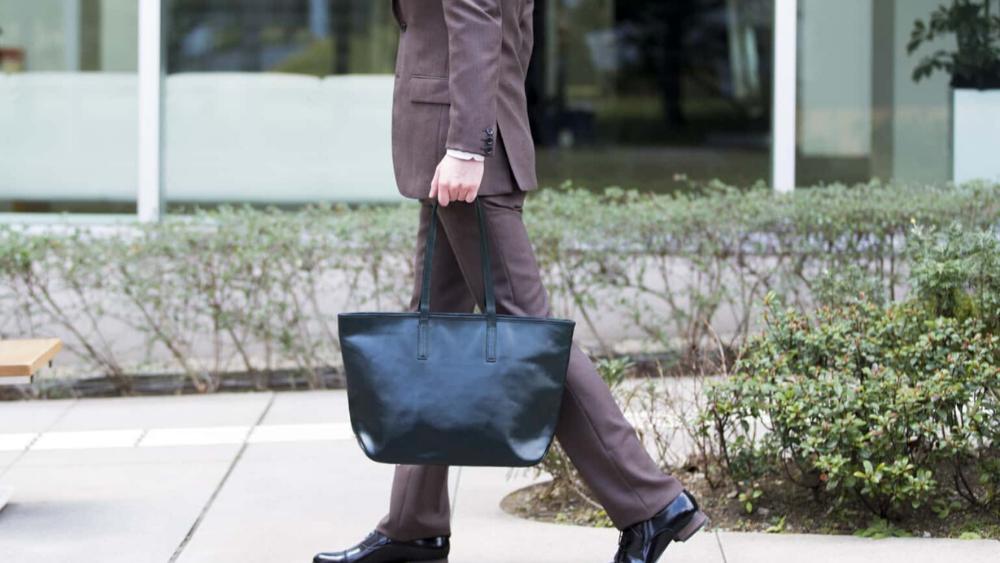 Business Leather Factory(ビジネスレザーファクトリー) トートバッグ 男性