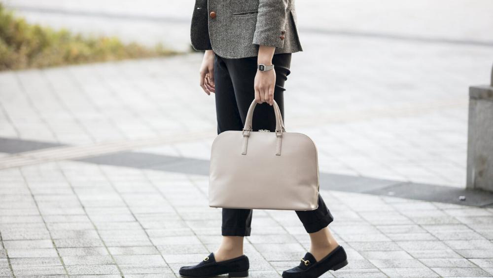 Business Leather Factory(ビジネスレザーファクトリー) スリムビジネスバッグ 女性