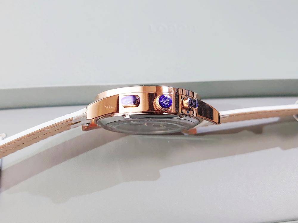 LOBOR CELLINI(セリーニ) ローズゴールド 自動巻き サイドボタン 保護シール