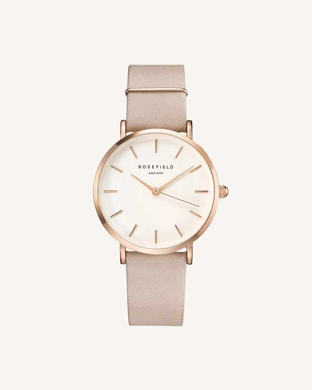 ROSEFIELD ローズフィールド The West Village Soft Pink Rose gold 33mm
