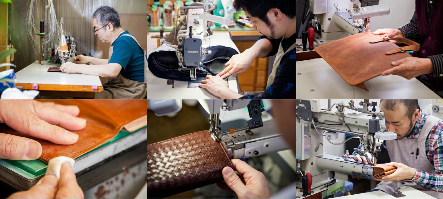 COCOMEISTER(ココマイスター) 熟練された日本の職人によって製作されているから高品質