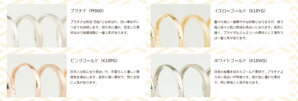 鎌倉彫金工房 素材