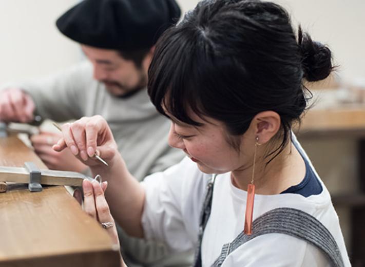 鎌倉彫金工房 手作り リング