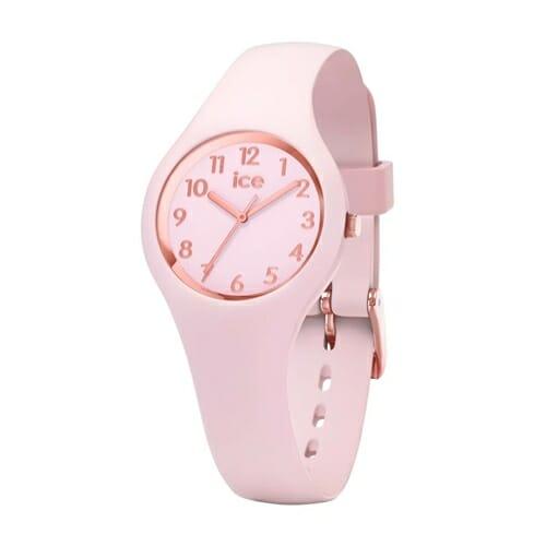 ICE glam pastel - ピンク レディ - ナンバーズ - エクストラスモール アイスウォッチ(ice watch)