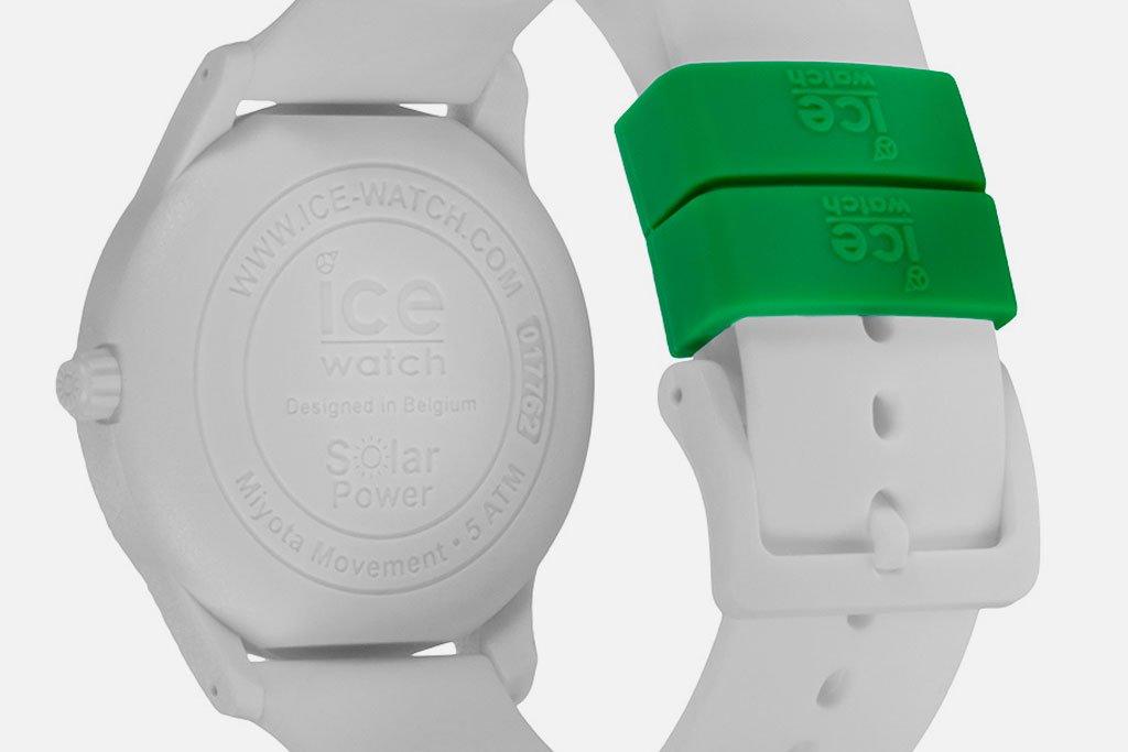 アイスウォッチ solor-watch 金属アレルギー対応のステンレス不使用モデル
