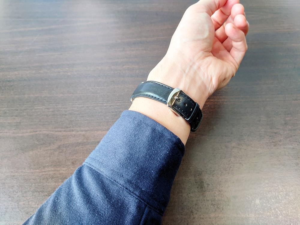 RENAUTUS ルノータス(クラシッククォーツ40mm)腕時計「着用」3