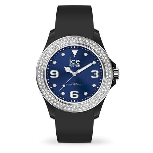 ICE star アイス スター ブラック ディープブルー スムーズ (ミディアム) アイスウォッチ(ice watch)
