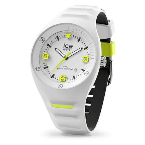 P.Leclercq ピエールルクレ ホワイトイエロー (ミディアム) アイスウォッチ(ice watch)