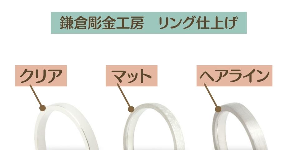 鎌倉彫金工房 リング 仕上げ2