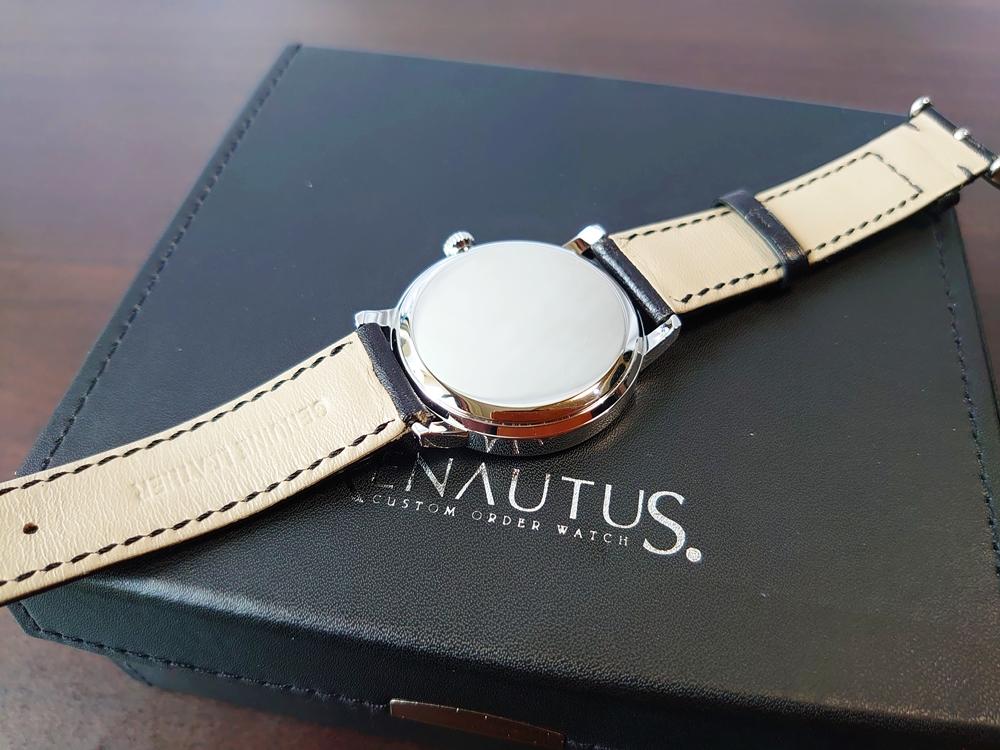 RENAUTUS ルノータス(クラシッククォーツ40mm)腕時計3