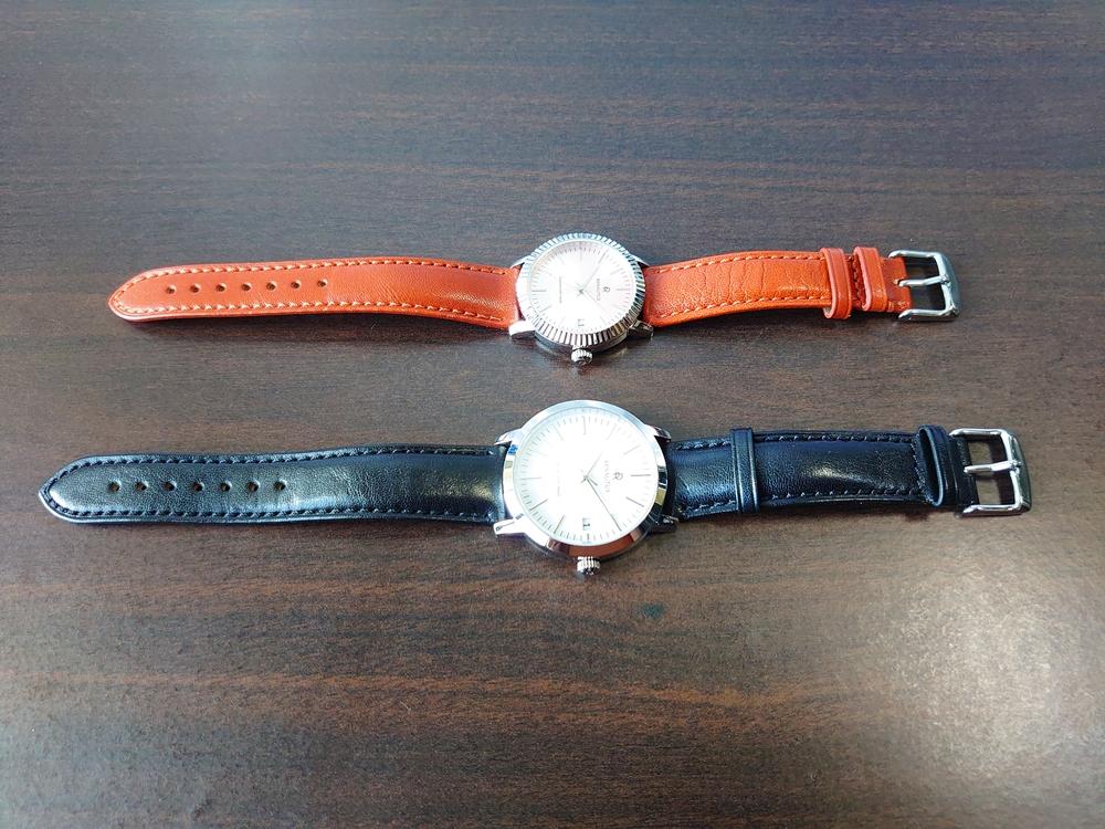 RENAUTUS ルノータス(クラシッククオーツ34mm 40mm)腕時計 比較