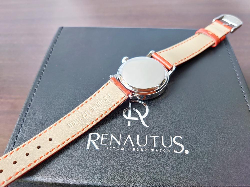 RENAUTUS ルノータス(クラシッククォーツ34mm)腕時計4