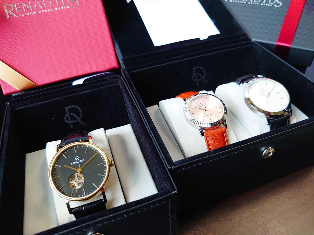 ルノータス RENAUTUS 腕時計 レビュー