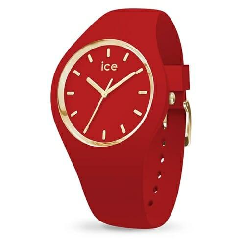 ICE glam colour - アイスグラムカラー レッド (ミディアム) アイスウォッチ(ice watch)