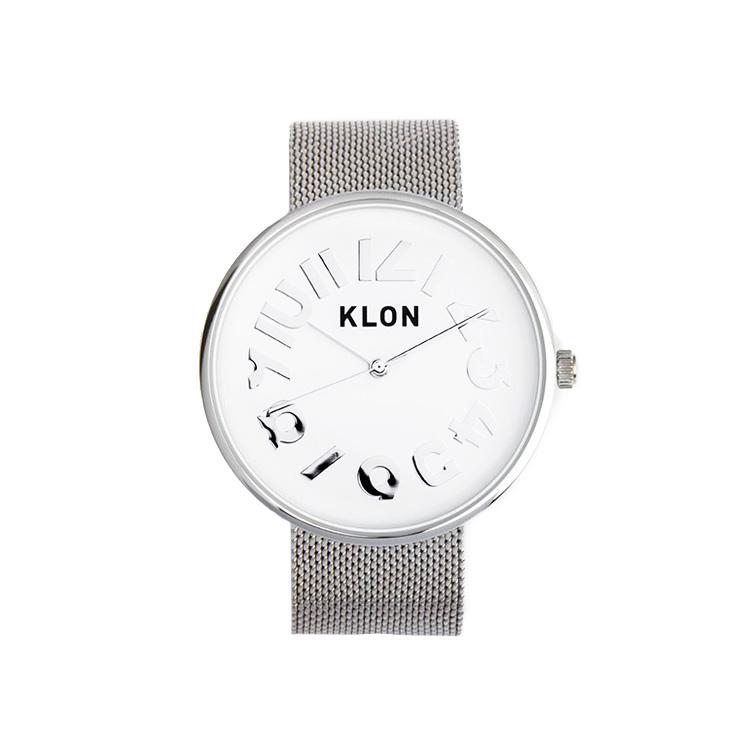 KLON HIDE TIME -SILVER MESH- Ver.SILVER 40mm
