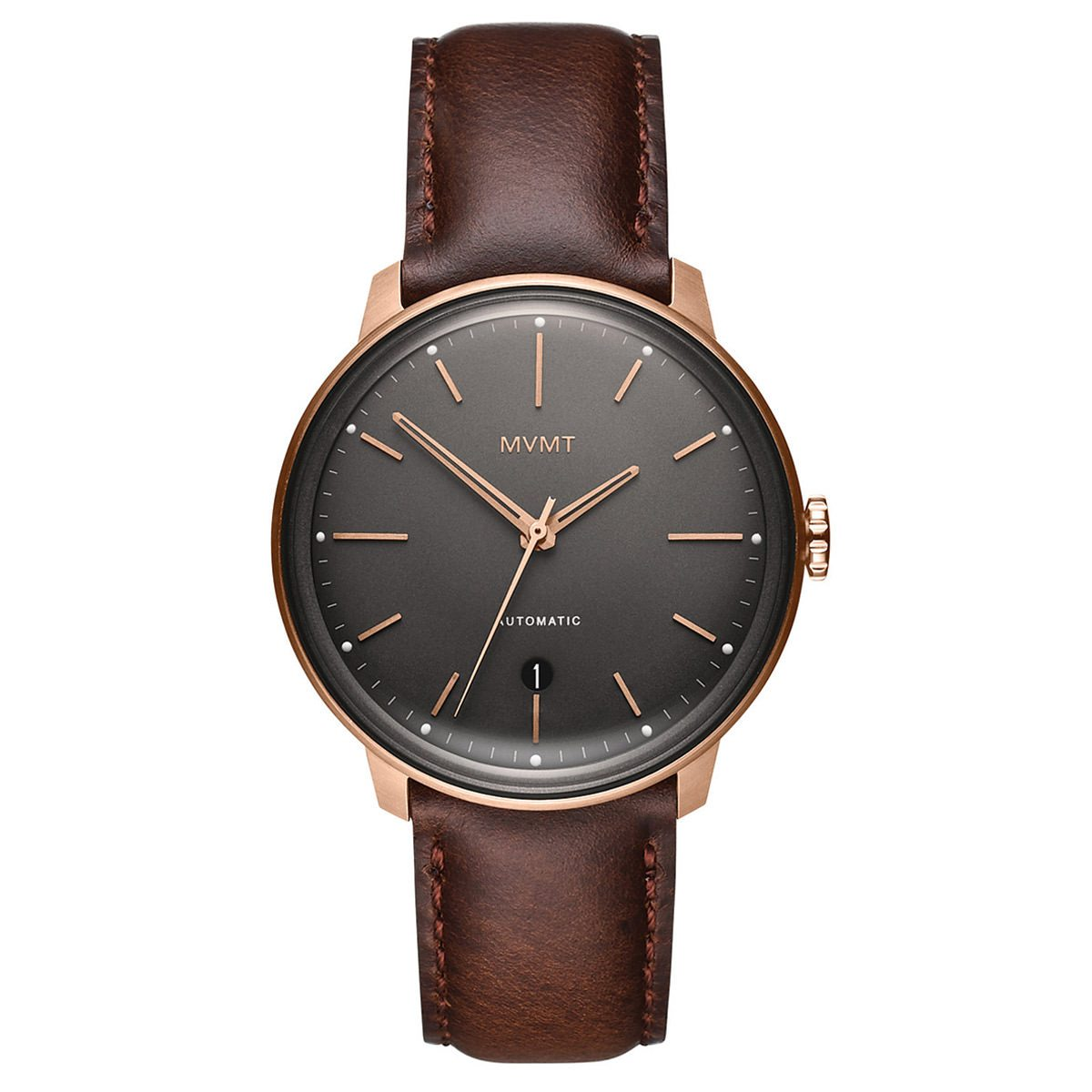 MVMT Arc Automatic - 41MM Bourbon Rose