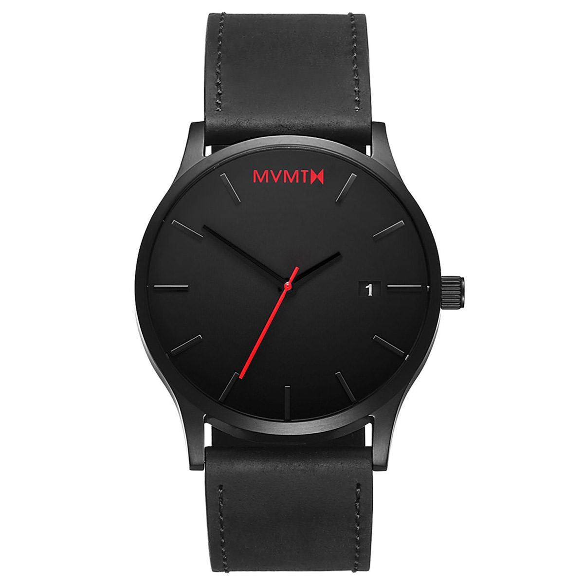 MVMT CLASSIC - 45MM Classic Black Leather