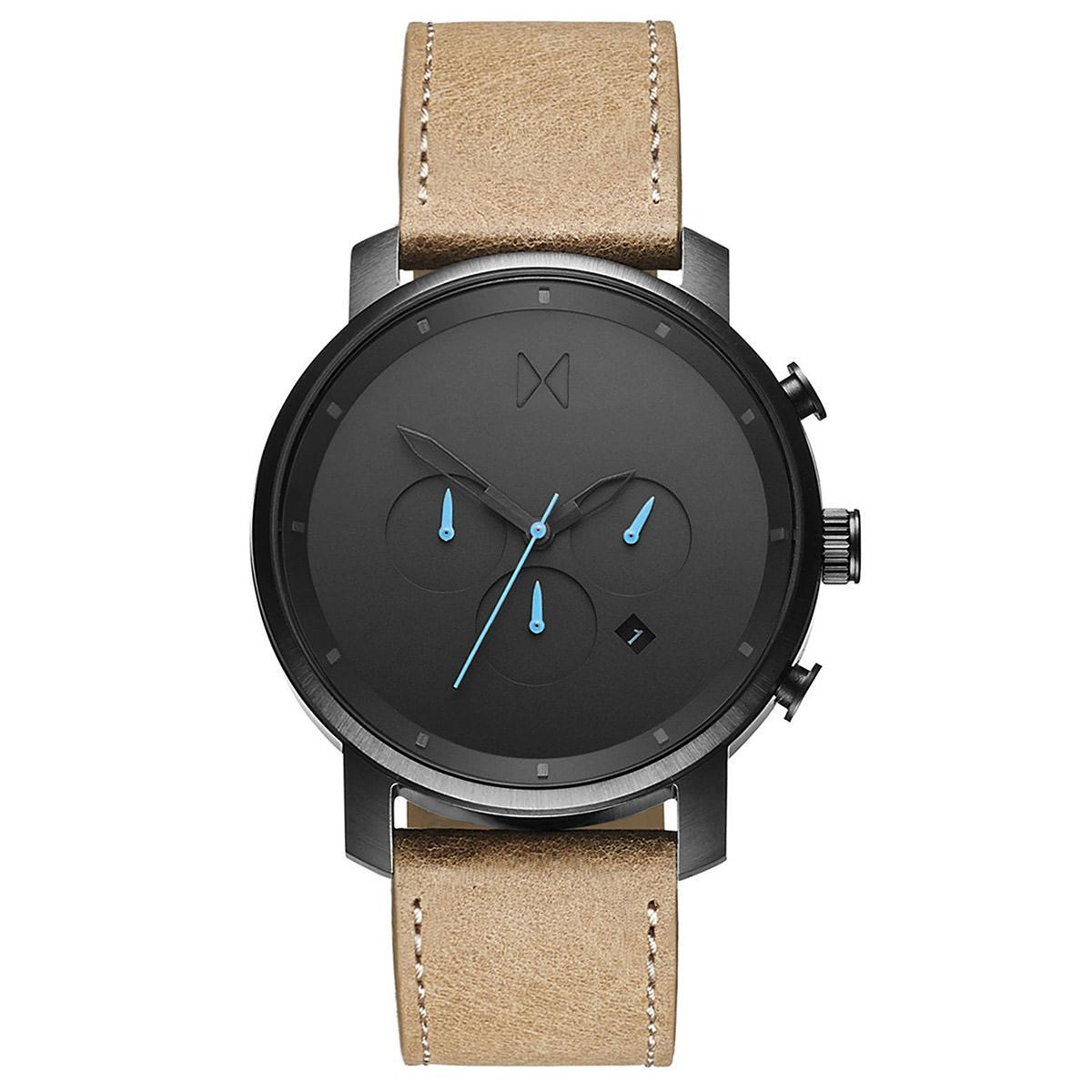 MVMT Chrono - 45mm Chrono Gunmetal Sandstone