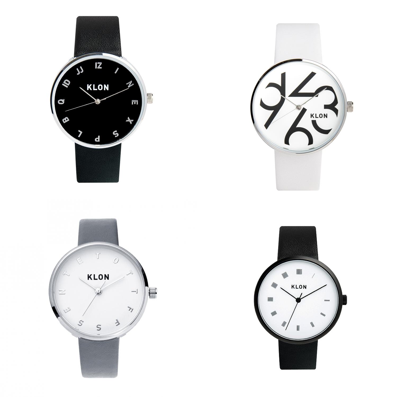 KLON レザーベルト 腕時計