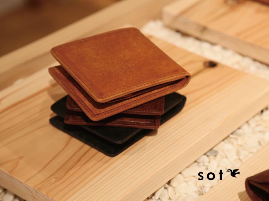 ソット 二つ折り財布