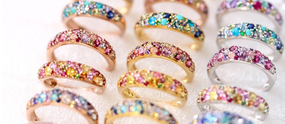 ビズー ブーケシリーズ 指輪