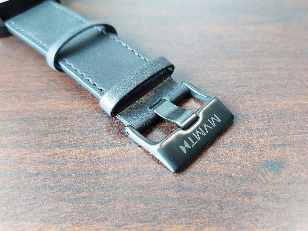 MVMT CHRONO BLACK LEATHER 45mm ムーブメント クロノ ブラックレザー バックケース ストラップ バックル