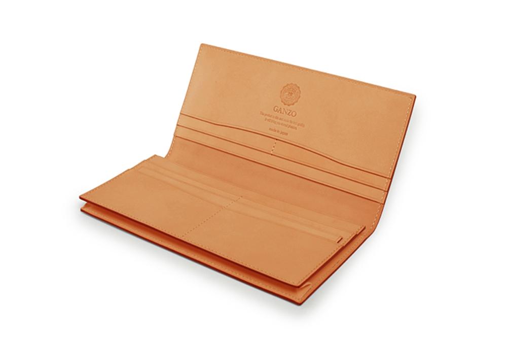 GANZO(ガンゾ)CORDOVAN (コードバン) 通しマチ長財布