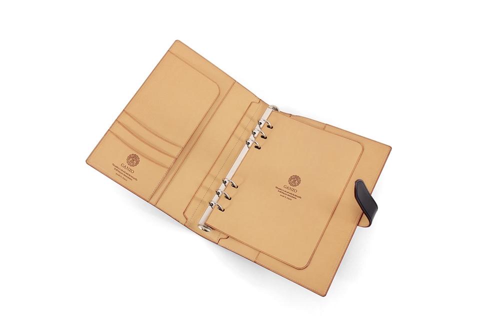 GANZO(ガンゾ) THIN BRIDLE (シンブライドル) システム手帳A5サイズ2