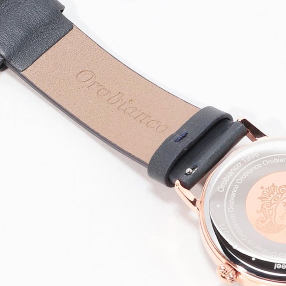 オロビアンコ 腕時計 ベルト レザー ワンタッチレバーピン