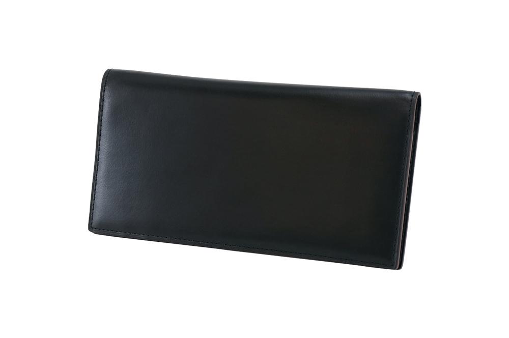 GANZO(ガンゾ)MYSTIC (ミスティック) マチなし長財布 ブラック