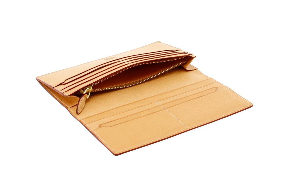 GANZO(ガンゾ)LIZARD6 (リザード6) ファスナー小銭入れ付き長財布