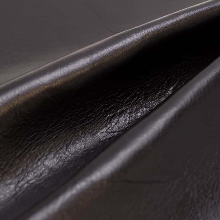 ブラック Business Leather Factory(ビジネスレザーファクトリー)レザー 本牛革