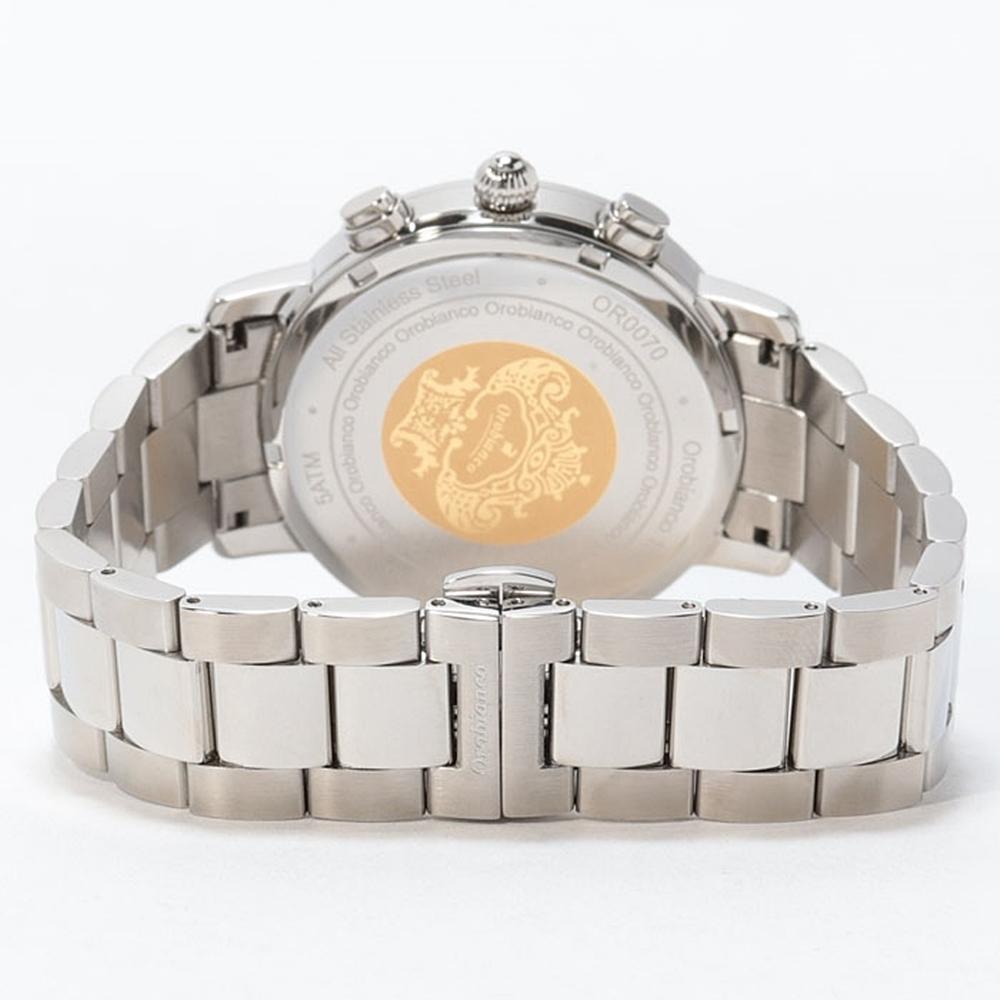オロビアンコ 腕時計 ベルト ステンレスブレスレット