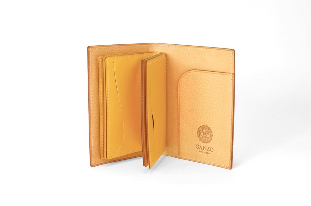 GANZO(ガンゾ) THIN BRIDLE (シンブライドル) カードケース