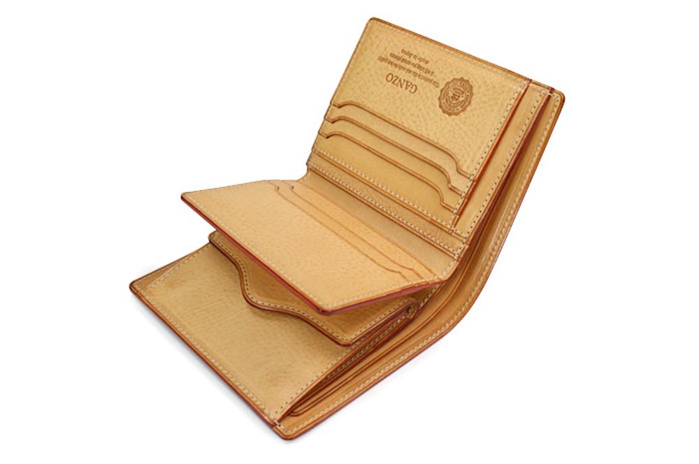 GANZO(ガンゾ)THIN BRIDLE (シンブライドル) 大型二つ折り財布