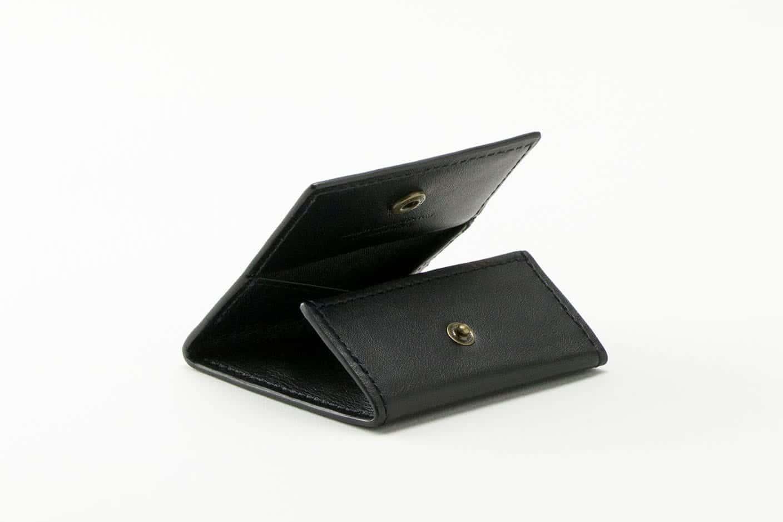 ボックスコインケース ブラック Business Leather Factory(ビジネスレザーファクトリー)