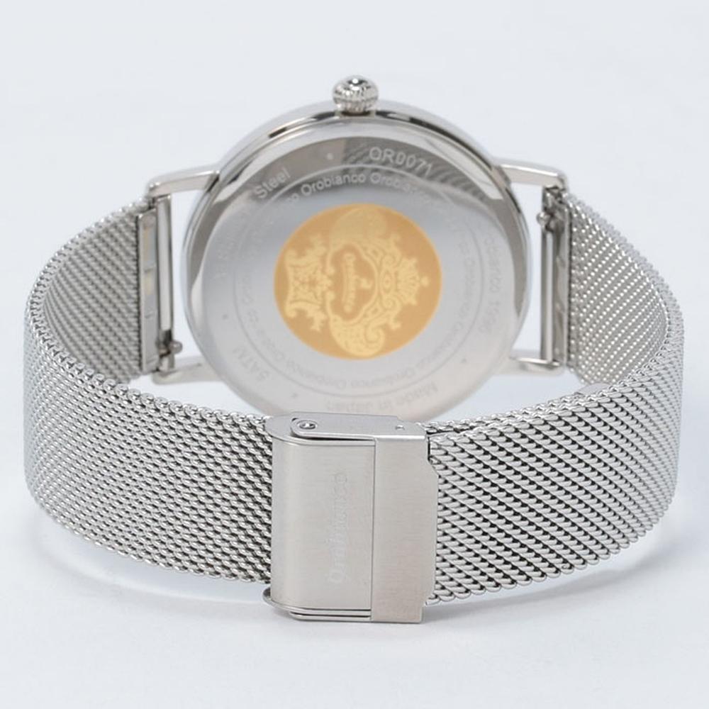 オロビアンコ 腕時計 ベルト ステンレスメッシュ