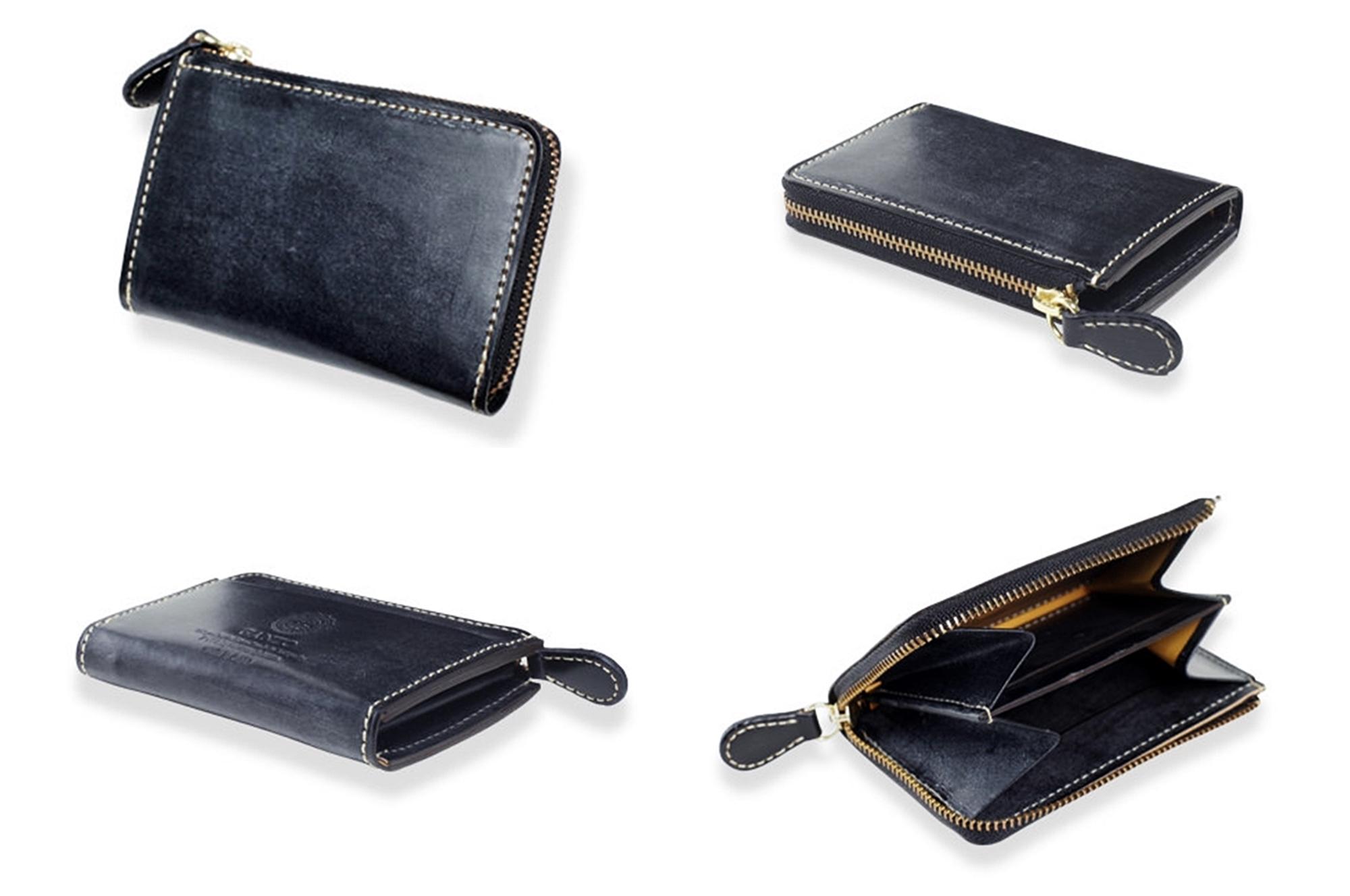 GANZO ガンゾ BRIDLE CASUAL (ブライドルカジュアル)Lファスナーカード入れ付き小銭入れ デザイン