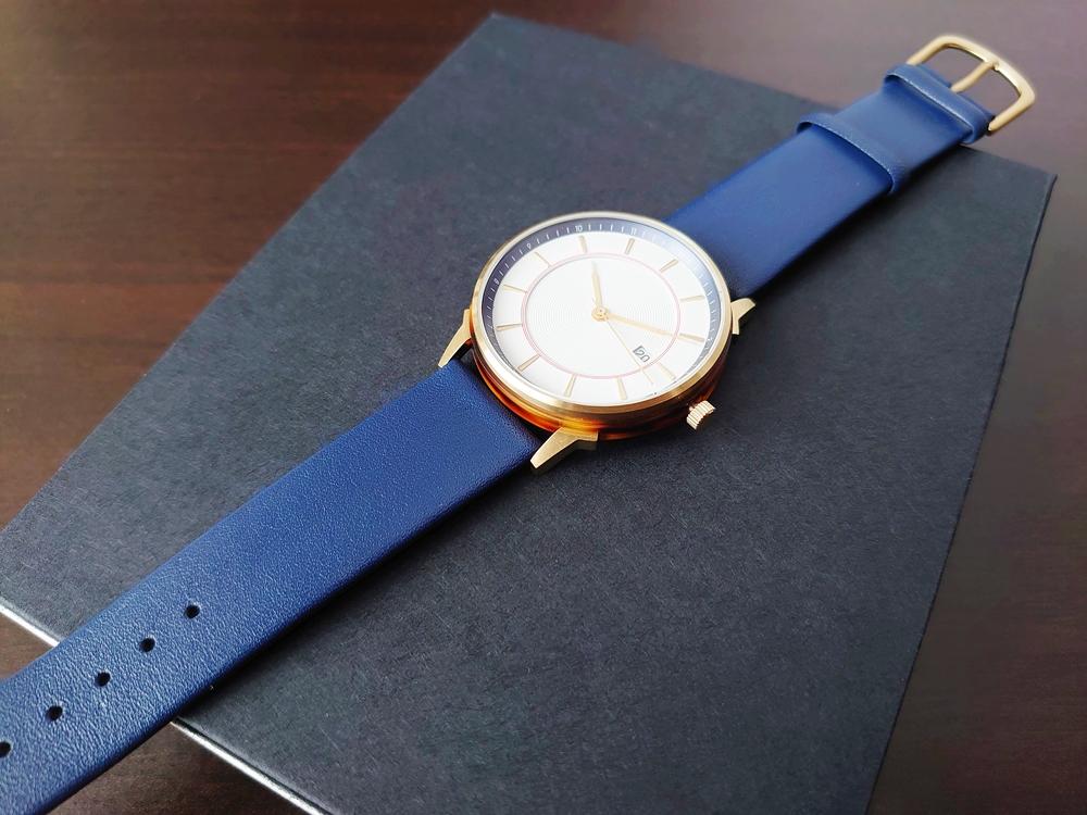 Lagom Watches ラーゴムウォッチ BORJA(LIMITED EDITION)2020年夏至限定版 LW060 時計全体 ダイヤルアップ