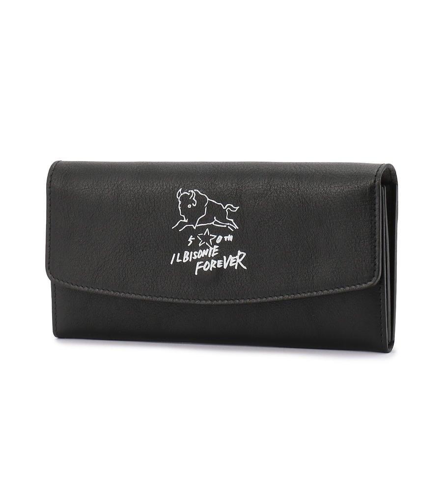 イルビゾンテ 50周年限定コレクション かぶせ長財布