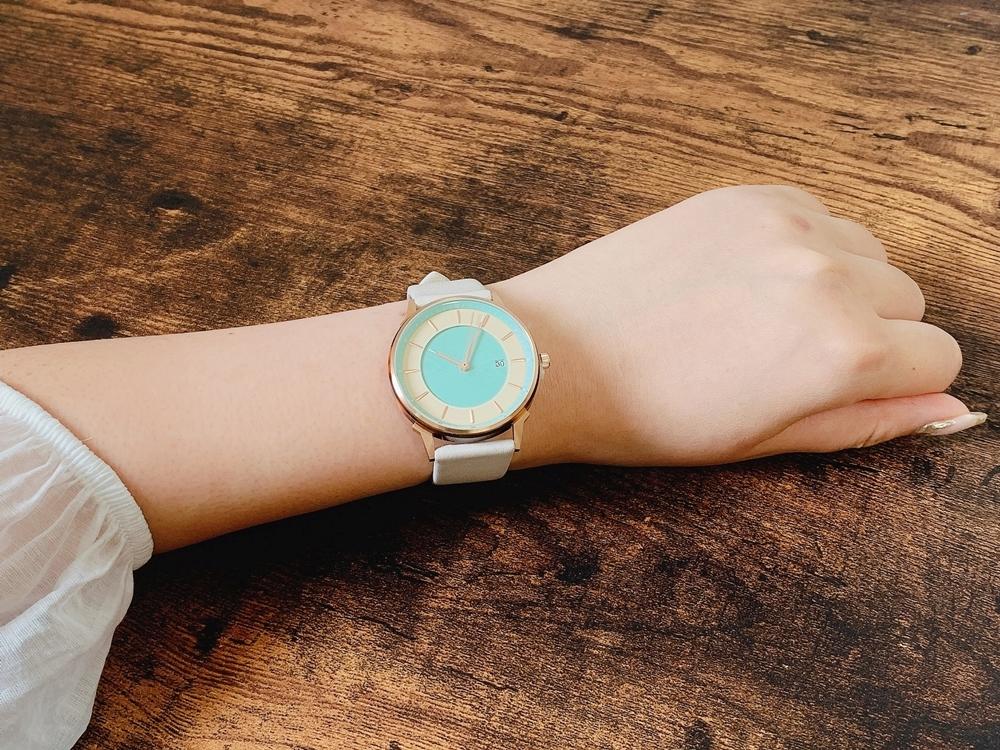 Lagom Watches ラーゴムウォッチ BORJA(LIMITED EDITION)【LW070:レディース向け】 2020年夏至限定版 着用6